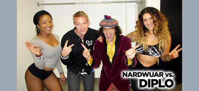 Discover Diplo's Influences in his interview with Nardwuar