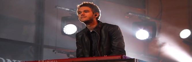 """Zedd Performs """"Find You"""" & """"Clarity"""" on Jimmy Kimmel Live"""