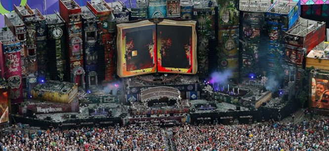 Tomorrowland Partners With MTV For International Broadcasts