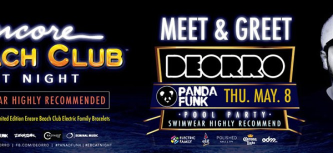 [CONTEST] Party With Deorro at Encore Beach Club, Las Vegas