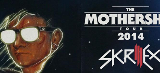 Skrillex Releases Mothership Tour 2014 Teaser Video