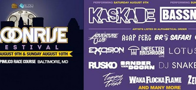 Moonrise Festival Drops Massive Lineup Headlined By Bassnectar & Kaskade