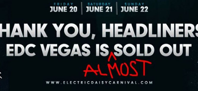 EDC Las Vegas Releases Additional Tickets To The Public