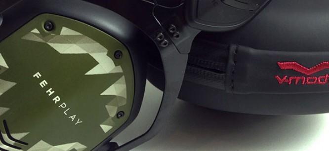 Win Custom Fehrplay V-MODA Headphones [Giveaway]