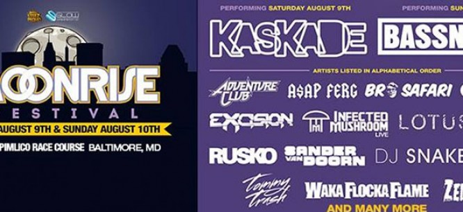 Win Tickets To Moonrise Festival with Bassnectar, Kaskade and more!