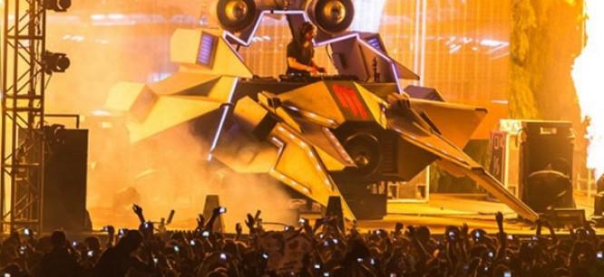 Skrillex Releases Official Mothership Tour Recap Video
