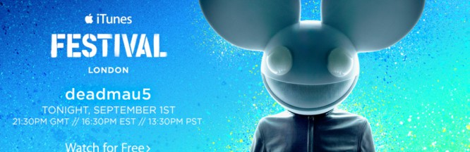 Deadmau5 and Calvin Harris to Perform at iTunes Festival