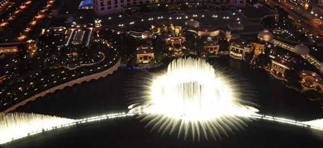 Tiësto Gets His Own Bellagio Fountain Show