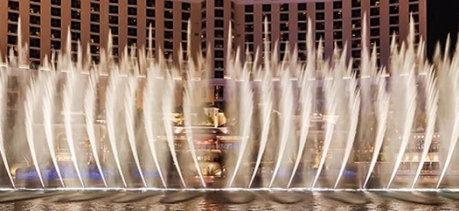 Watch Tiesto's Very Own Bellagio Fountain Show