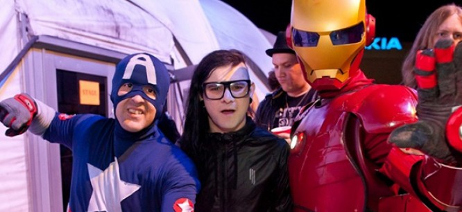 Celebrate Your Halloween With Skrillex