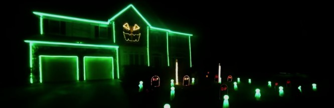 Watch A Halloween Light Show With Deadmau5's 'Ghosts N Stuff' As The Soundtrack