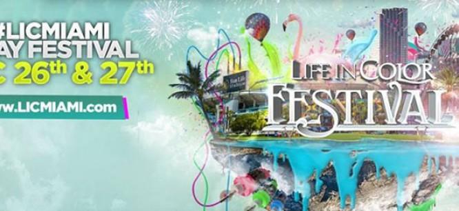Life In Color Miami Announces Massive Festival Lineup