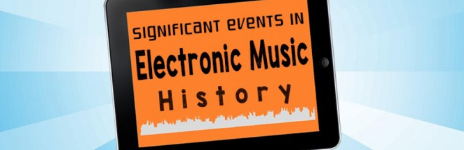 Infographic Compiles Significant Events In Electronic Music History
