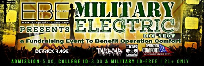 Military Veterans Are Using EDM To Heal & 6 Veterans Will Be DJing At Upcoming U.S. Military Benefit