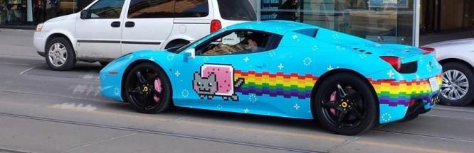 Watch The Birth Of Deadmau5's Nyancat Ferrari, 'The Purrari'