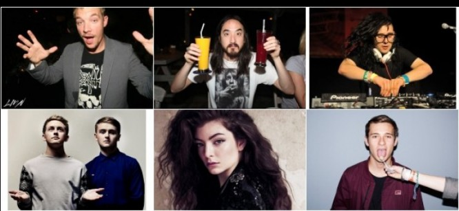 Watch Skrillex, Diplo, Lorde, Steve Aoki, Flume And Others Collaborate In An Australian Comedy Sketch