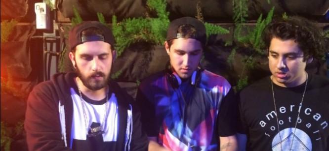Borgore, Jauz, & Ookay Perform B2B Set At Mixmag Lab L.A.