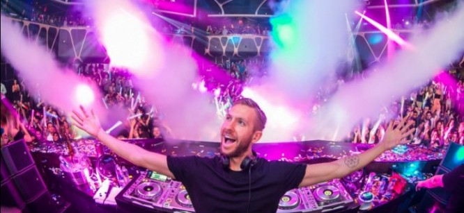 How Calvin Harris, Zedd and More Brought In The New Year...