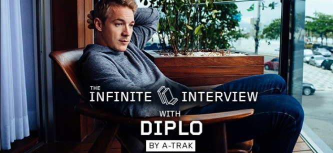 A-Trak's Infinite Interview With Diplo