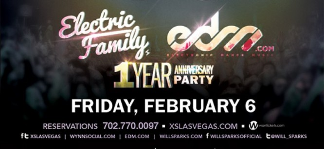 EDM.com Celebrates Its 1 Year Anniversary With Will Sparks In Vegas