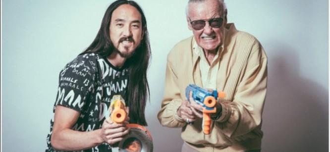 Steve Aoki and Stan Lee Talk Armageddon