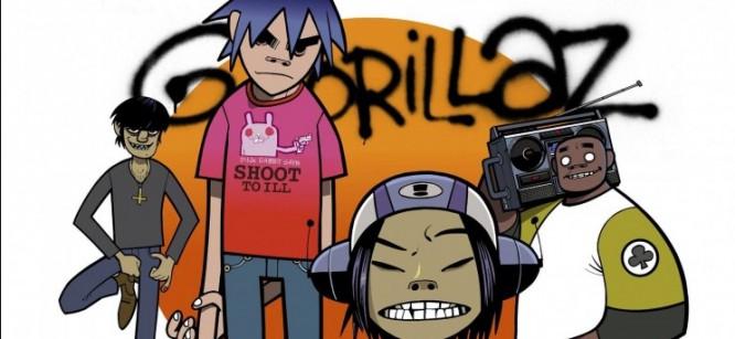 Gorillaz Cartoon Band Resurfaces With New Artwork