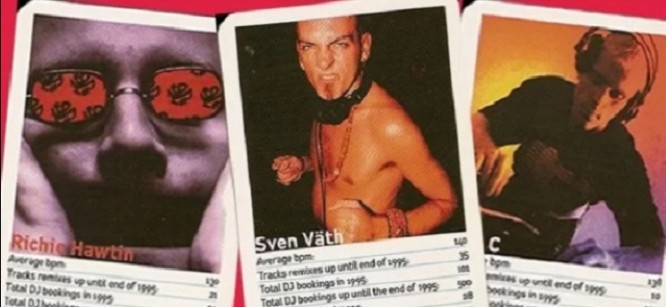 Richie Hawtin, Carl Cox, and More Immortalized Into Trading Cards