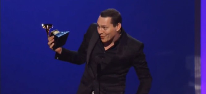 Watch Tiesto's Grammy Acceptance Speech