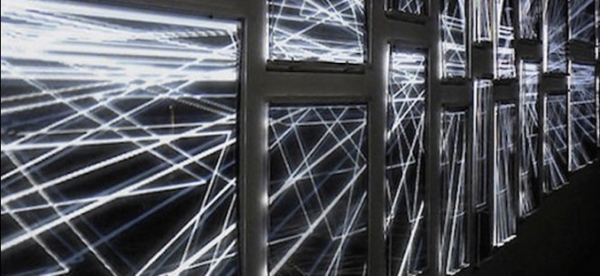 French Nightclub Commissions Incrediblely Artistic Light Installation