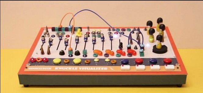 Minimalogue Creates Synth with Rubber Ducks and Jelly Beans