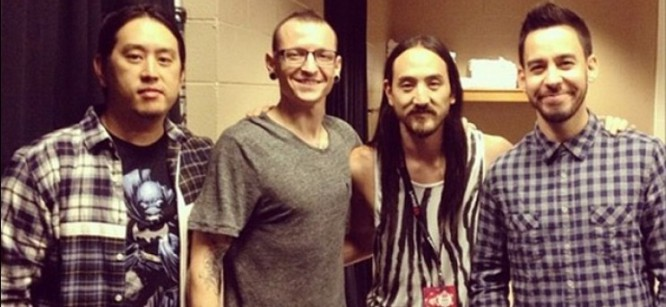 Steve Aoki  Debuts His New Linkin Park Collaboration