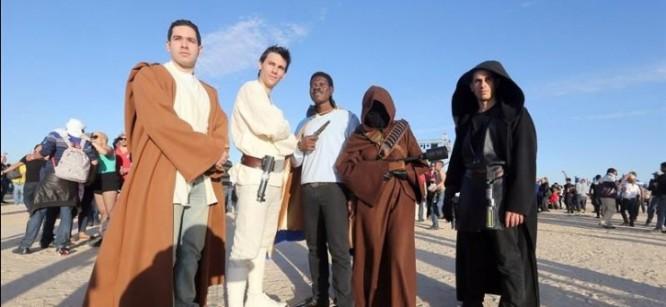 Tunisian Music Festival Uses Star Wars Movie Sets For Raves