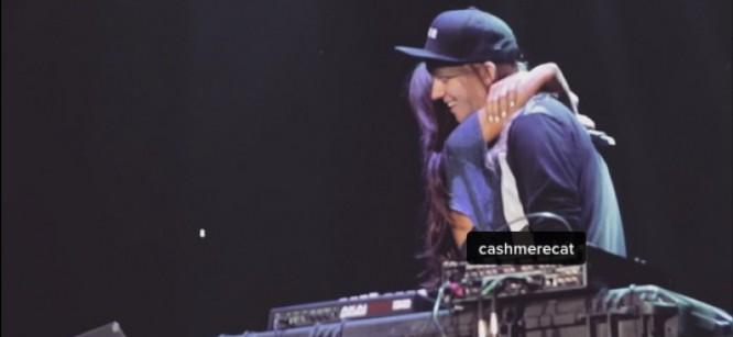 Cashmere Cat and Ariana Grande Perform 'Adore' Together Live
