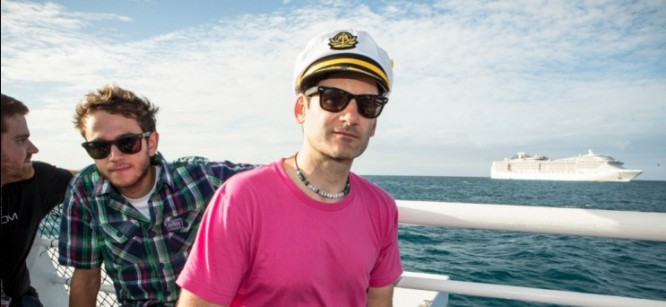 Destructo Takes Holy Ship to Church with his Sunrise Sermon