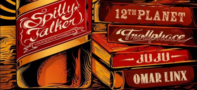 12th Planet, TrollPhace, JuJu, & Omar Linx Collaborate On 'Spilly Talker'