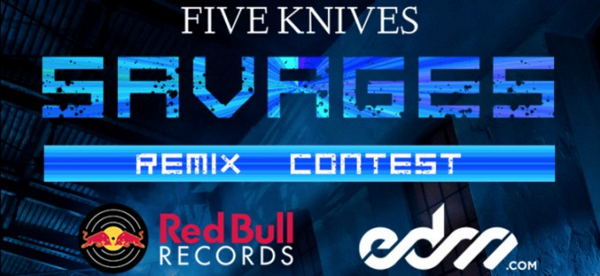 """Red Bull Records + EDM.com Present The Five Knives - """"Savages"""" Remix Competition!"""