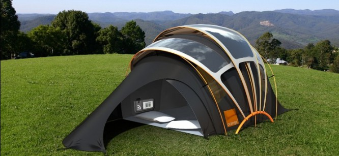 Glow Tents for Next Level Festival Camping