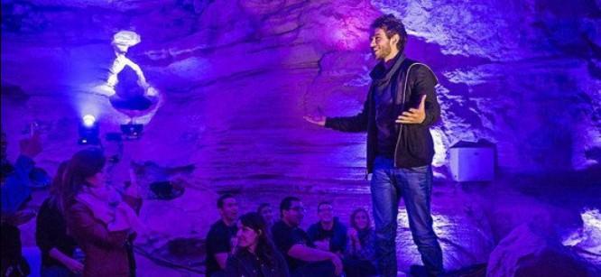 Zedd Throws Epic Cave Party for Fans