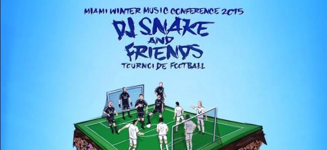 DJ Snake Organizes Miami Music Week Soccer Game With Kygo & More