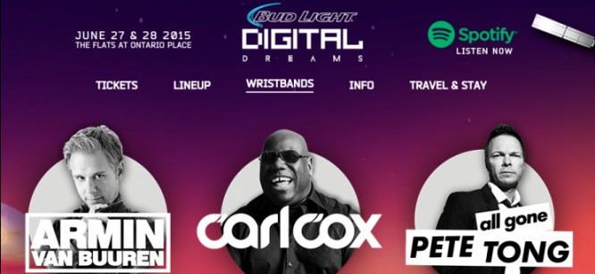 Armin, Zedd, Excision and more to play Digital Dreams Festival 2015