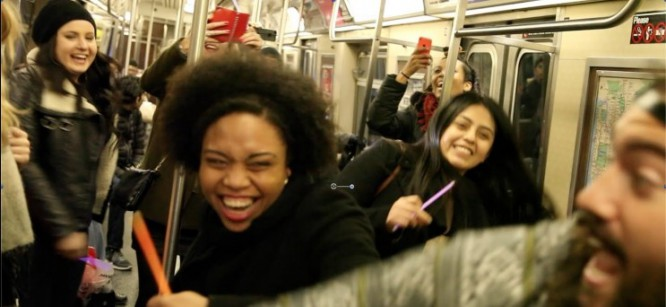 This DJ Threw A Dance Party On A NYC Subway