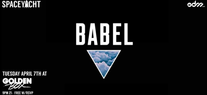 Watch: Mysterious Producer Babel & Friends Livestream At Space Yacht