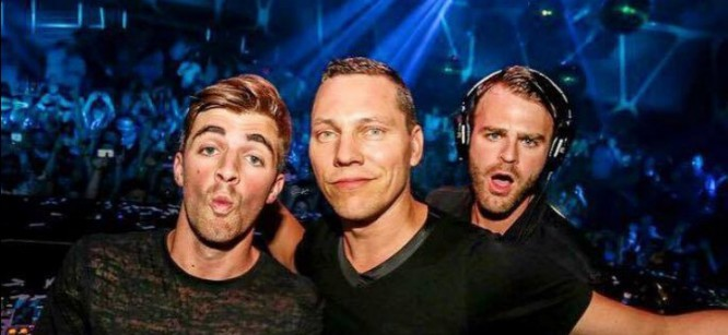 Tiesto Teams Up With The Chainsmokers