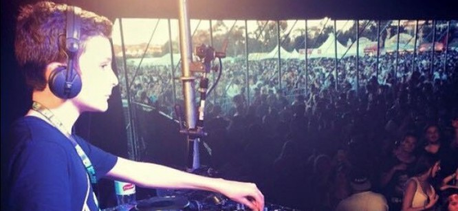 Australia's Youngest Producer Gets Called To Stage For His First Festival Set