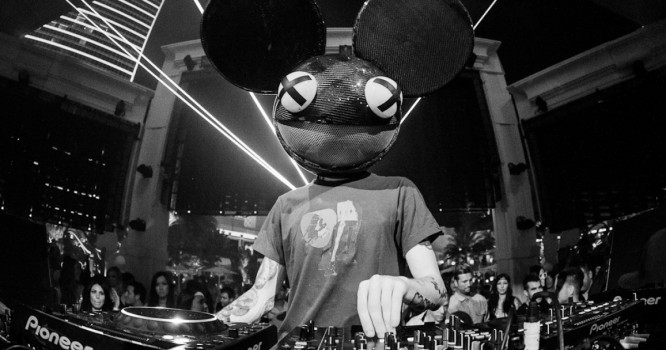 Deadmau5 Plays For 100 People At Private Party