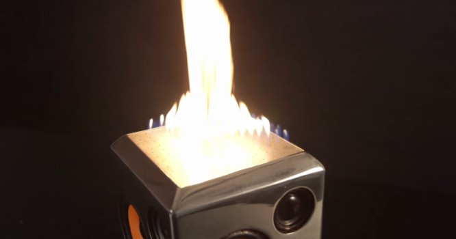 Light Up Parties With This Speaker That Turns Music Into Fire [VIDEO]