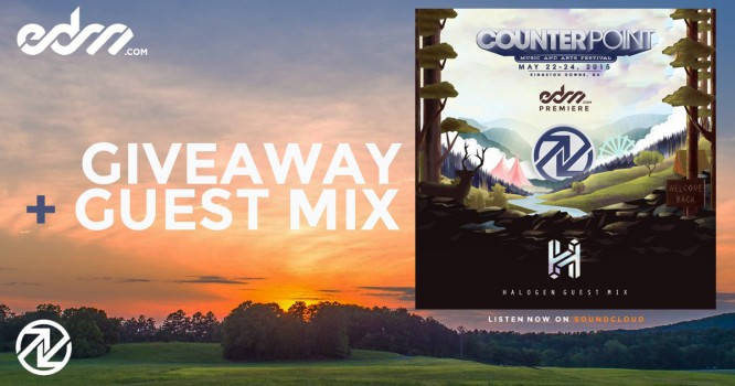 Halogen, CounterPoint, and EDM.com Are Giving Away Tickets to CounterPoint Festival Along With an Exclusive Mix