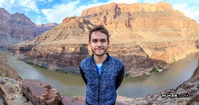 Zedd Takes Fans To The Grand Canyon For A Huge Party
