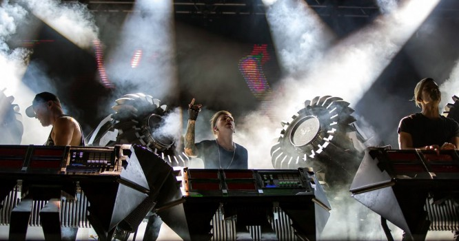 The Glitch Mob Releases Documentary 'Behind The Blade' Revealing Their Jaw-Dropping Live Setup