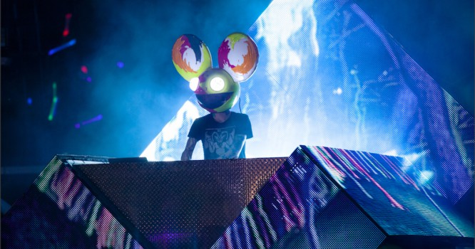 deadmau5 Teams Up With Street Artist Greg Mike To Paint Mural In Miami